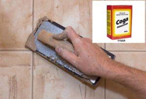 Чем отмыть плитку от затирки после ремонта – практические советы