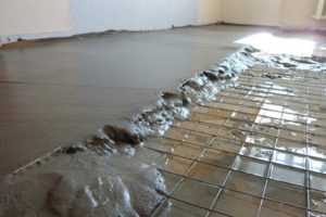 Сетки для армирования бетонной стяжки пола и их разновидности