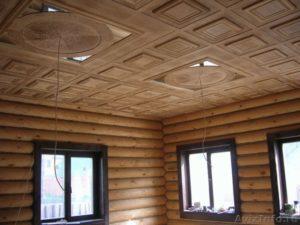 Отделка потолка в деревянном доме – на какой облицовке остановиться?