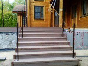 Инструкция по изготовлению крыльца и ступеней из террасной доски