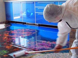 Наливные 3D полы своими руками – трехмерная иллюзия в дизайне интерьера