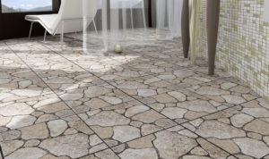 Виды и характеристики каменной плитки для пола