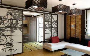 Японский стиль в интерьере современной квартиры