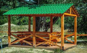Беседка своими руками – варианты сооружения построек для отдыха на даче