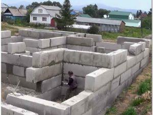 Фундамент из блоков ФБС – строим надежное основание в кратчайшие сроки