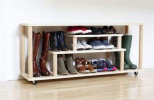 Обувница своими руками – разные варианты тумб для обуви