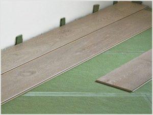 Хвойная подложка под ламинат – особенности натурального материала