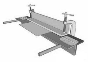 Листогиб своими руками – доступные решения для деформации проката