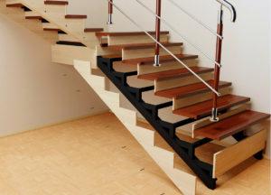 Лестница на металлокаркасе – как создать красивую конструкцию?