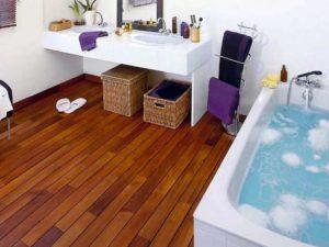 Выбор покрытия для пола в ванной комнате