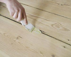 Шпаклевка для деревянного пола