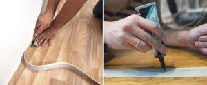Технология укладки линолеума своими руками: технология и инструменты