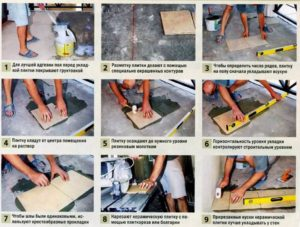 Пошаговая инструкция укладки керамической плитки в ванной