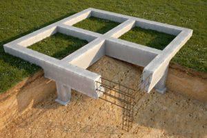 Фундамент под дом – обустроим сами разные основания