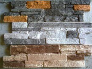 Декоративная плитка под камень: виды, свойства, специфика кладки