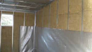 Утепление гаража – недорогие способы внутренней теплоизоляции