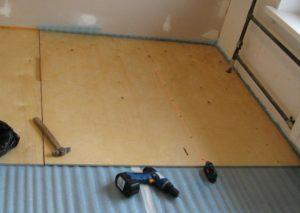 Укладка фанеры на деревянный пол под линолеум без помощи специалистов