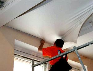Монтаж натяжных потолков своими руками и стоимость м2 с установкой
