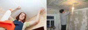 Чем и как помыть подвесной потолок и пенопластовую плитку
