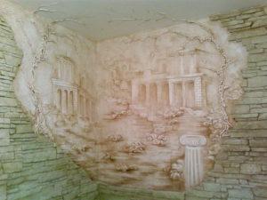Декоративный гипсовый барельеф на стене: как новичку сделать его своими руками