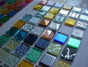 Технология производства плитки из битого стекла