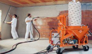 Штукатурные машины – неуемная рабочая сила