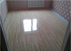 Укладка ламината по диагонали – чтобы комната стала красивее и просторнее