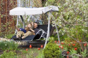 Садовые качели своими руками – раскачиваемся и отдыхаем всей семьей