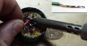 Пайка проводов паяльником – учимся паять правильно