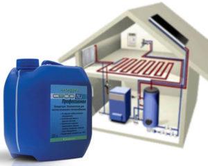 Антифриз для системы отопления загородного дома – залог тепла и комфорта