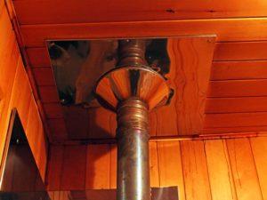 Дымоход в бане – самостоятельно монтируем оптимальную по материалу и типу трубу
