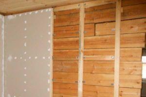 Отделка стен гипсокартоном в деревянном доме – раскрываем все секреты!