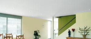 Натяжные тканевые подвесные потолки Clipso производства Швейцарии