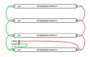 Подключение светодиодной лампы вместо люминесцентной – легко и надежно