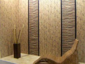 Отделка стен в коридоре – вагонка, пробка или бамбук?