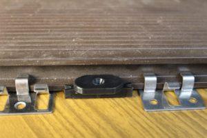 Клипсы для террасной доски и скрытый крепеж