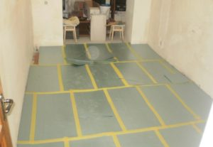 Подложка под линолеум на бетонные полы