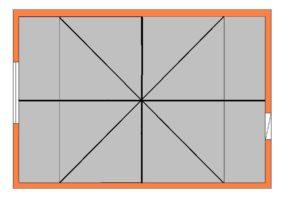Как класть плитку по диагонали – расчет и основные правила