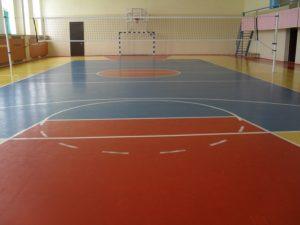 Резиновое покрытие для полов в спортзалах