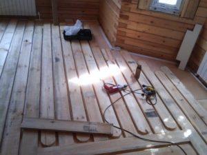 Теплый пол в деревянном доме – варианты устройства своими руками