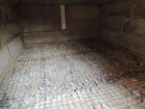 Бетонные полы в погребе и подвале гаража