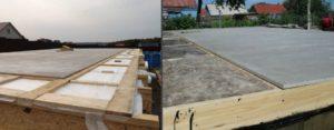 Применение цементно-стружечной плиты для выравнивания пола