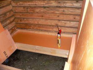 Обзор материалов для утепления пола в бане