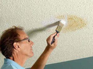 Побелка потолка водоэмульсионной краской – руководство для мастера на все руки