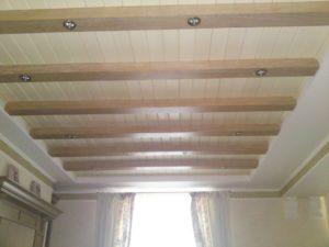 Как подшить сайдинг на потолок в ванной и кухне