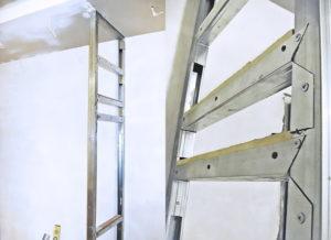 Шкаф из гипсокартона — простое и дешевое решение своими руками