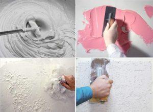 Разновидности потолочных рисунков и техники их нанесения