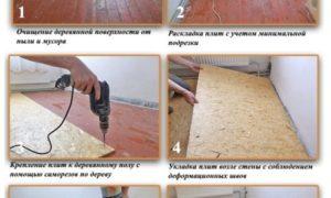 Укладка плит ОСБ на пол: особенности и функции материала, специфика монтажа