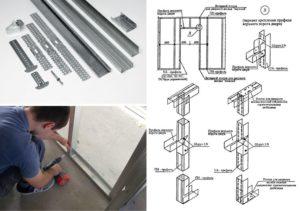 Монтаж профиля для гипсокартона – простая сборка сложных конструкций