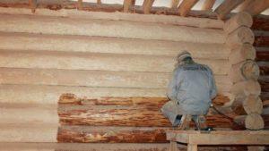 Шлифовка сруба – как сделать деревянный дом по-настоящему красивым?